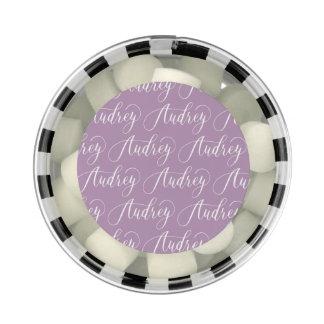 Audrey - Modern Calligraphy Name Design Gum