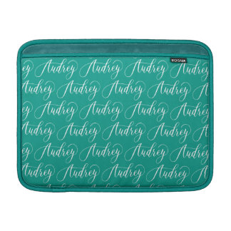 Audrey - Modern Calligraphy Name Design MacBook Sleeve