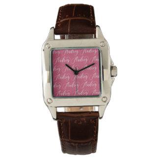 Audrey - Modern Calligraphy Name Design Watch