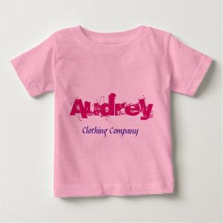 Audrey Name Clothing Company Baby Shirts