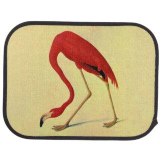 Audubon American Flamingo Painting Floor Mat