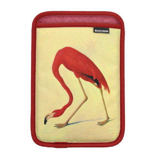 Audubon American Flamingo Painting iPad Mini Sleeve