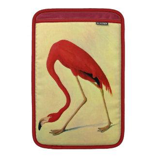 Audubon American Flamingo Painting Sleeve For MacBook Air