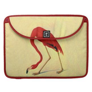 Audubon American Flamingo Painting Sleeve For MacBooks