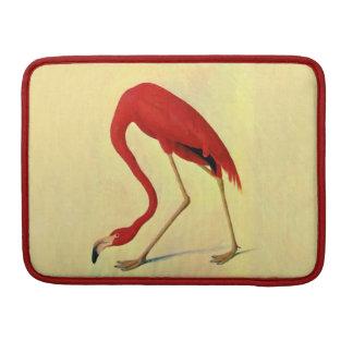 Audubon American Flamingo Painting Sleeve For MacBook Pro