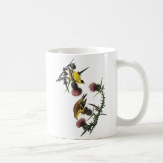 Audubon American Goldfinch Mugs
