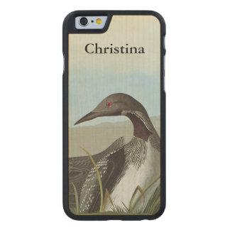 Audubon: Arctic Loon Carved Maple iPhone 6 Case