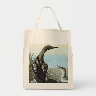 Audubon: Arctic Loon Tote Bag