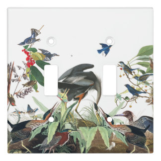 Audubon Bird Collage Wildlife Light Switch Cover