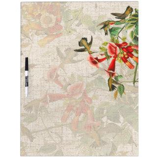 Audubon Bird Wildlife Animal Floral Erase Board