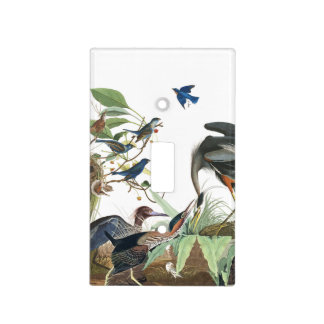 Audubon Birds Collage Wildlife Light Switch Cover