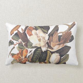 Audubon Black Billed Cuckoo Lumbar Pillow