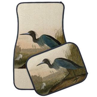 Audubon Blue Crane Heron Birds of America Car Floor Mat