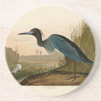 Audubon Blue Crane Heron Birds of America Beverage Coaster