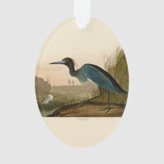 Audubon Blue Crane Heron Birds of America Ornament