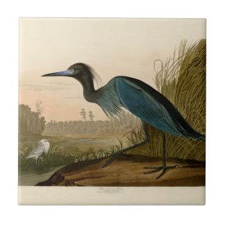 Audubon Blue Crane Heron Birds of America Ceramic Tiles