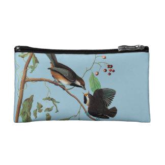 Audubon: Chickadee Cosmetic Bags