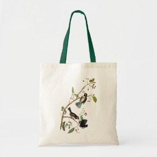 Audubon: Chickadee Budget Tote Bag