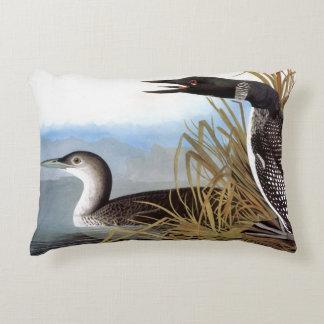 Audubon: Common Loon Accent Pillow