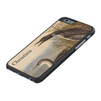 Audubon: Common Loon Carved® Maple iPhone 6 Case