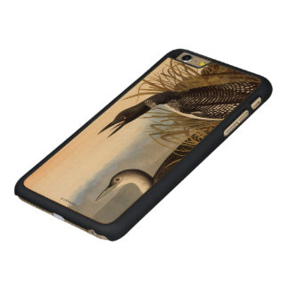 Audubon: Common Loon Carved Maple iPhone 6 Plus Slim Case