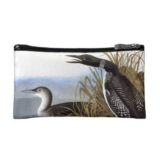Audubon: Common Loon Makeup Bag