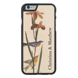 Audubon: Curruca Funda De iPhone 6 Carved® Slim De Arce