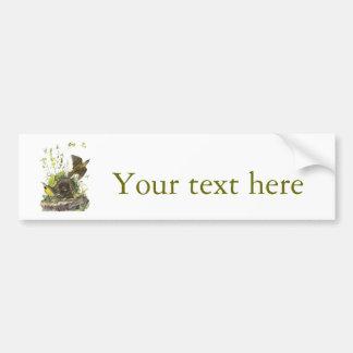Audubon Eastern Meadowlard Car Bumper Sticker
