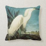Audubon: Egret Pillow