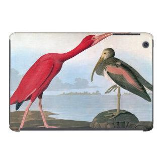 Audubon: Escarlata Ibis Funda Para iPad Mini Retina