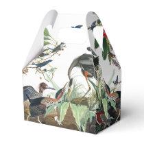 Audubon Heron Birds Wildlife Animals Favor Box