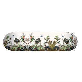 Audubon Heron Birds Wildlife Animals Skateboard