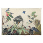 Audubon Heron Bluebird Birds Collage Placemat