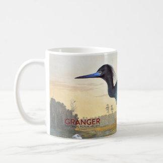 Audubon: Little Blue Heron Coffee Mug
