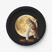 Audubon Long-eared Owl Halloween Plates