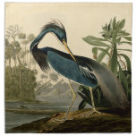 Audubon Louisiana Heron Cloth Napkins