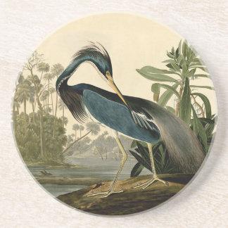 Audubon Louisiana Heron Drink Coasters
