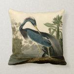 Audubon Louisiana Heron Pillows