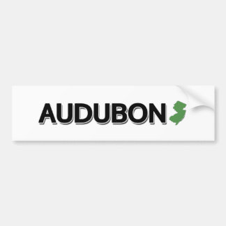 Audubon, New Jersey Bumper Sticker