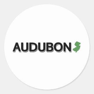 Audubon, New Jersey Classic Round Sticker