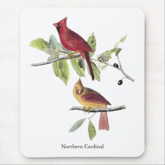 Audubon Northern Cardinal Mouse Pad