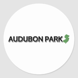 Audubon Park, New Jersey Classic Round Sticker