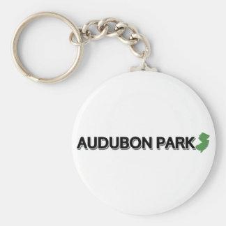 Audubon Park, New Jersey Keychain