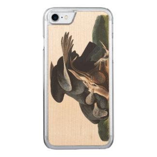 Audubon Plate 106 Black Vulture Carved iPhone 7 Case