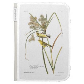 Audubon Plate 14 Prairie Warbler Kindle Folio Case