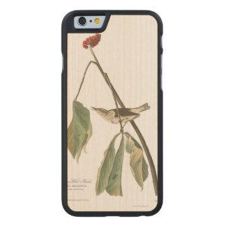 Audubon Plate 19 Louisiana Water Thrush Carved® Maple iPhone 6 Slim Case