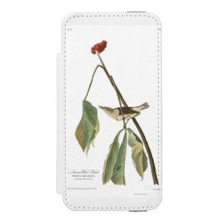 Audubon Plate 19 Louisiana Water Thrush iPhone SE/5/5s Wallet Case