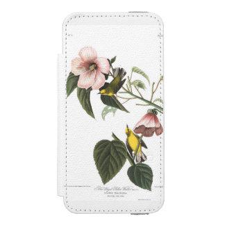 Audubon Plate 20 Blue-winged Yellow Warbler iPhone SE/5/5s Wallet Case