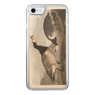 Audubon Plate 296 Barnacle Goose Carved iPhone 8/7 Case
