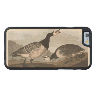 Audubon Plate 296 Barnacle Goose Carved Maple iPhone 6 Slim Case